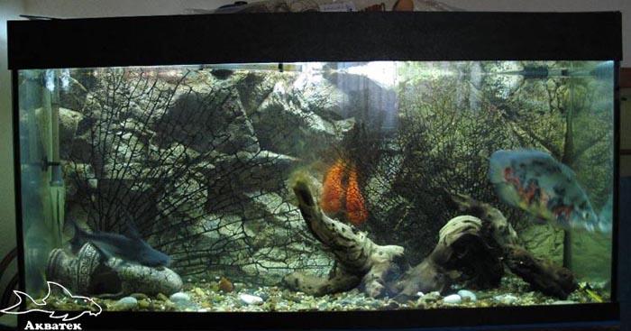 внешний фильтр в аквариуме