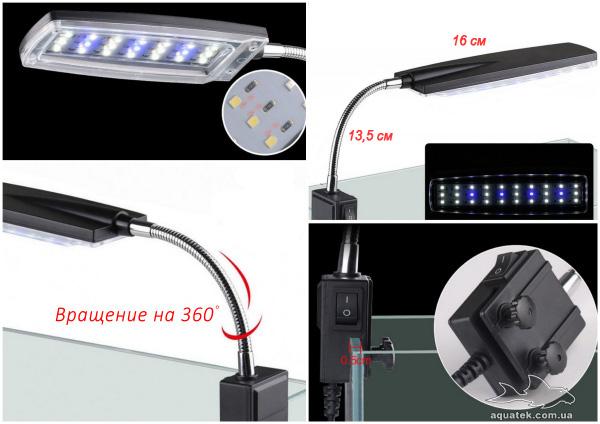 LED светильник SUNSUN AMD-D2