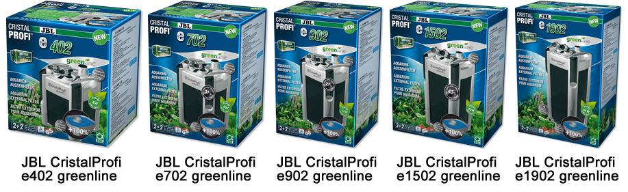 JBL CristalProfi e402 и e1902 greenline
