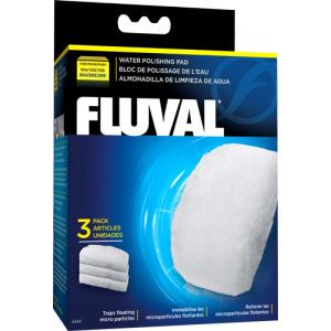 Вата. Вкладыш тонкой очистки 3 шт, для фильтров Fluval 105/106, 205/206