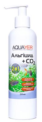 Удобрения для аквариумных растений AQUAYER Альгицид+СО2 250мл