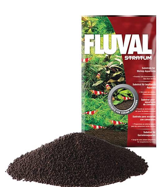 Аквариумный грунт Fluval Stratum 2 кг.