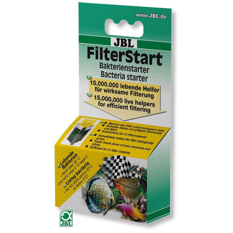 JBL FilterStart - для активации биологических фильтров, 10 мл.