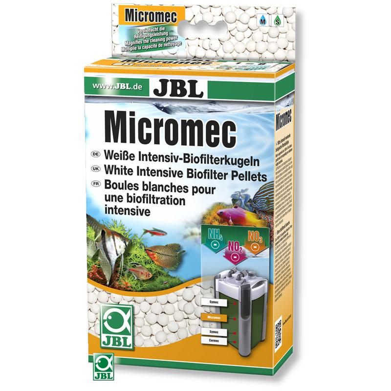 JBL MicroMec - белые шарики для интенсивной биологической фильтрации, 1 литр