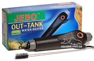 Проточный внешний обогреватель с терморегулятором Jebo HT600