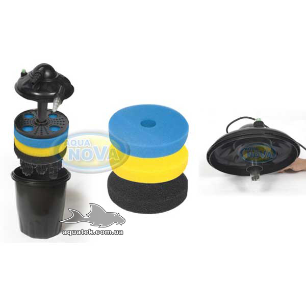 Напорный фильтр AquaNova NPF-20 с УФ-лампой 9 Вт.