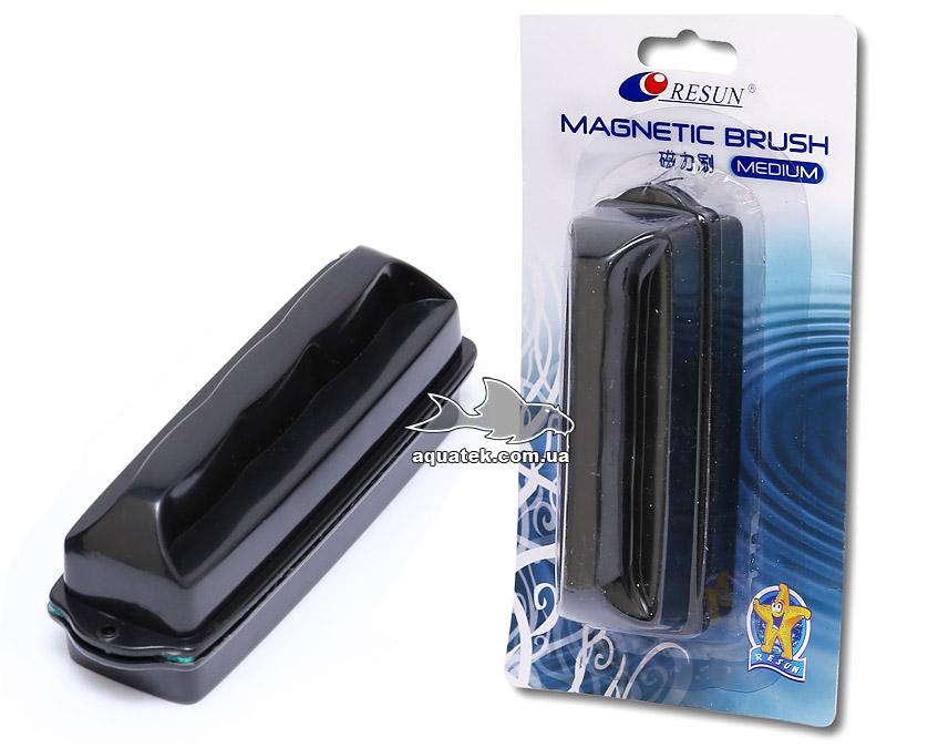 Resun MB-M - аквариумный магнитный очиститель (скребок), для стекол до 10 мм