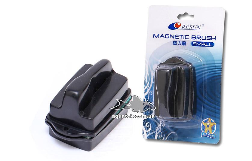 Resun MB-S - аквариумный магнитный очиститель (скребок), для стекол 4-5 мм