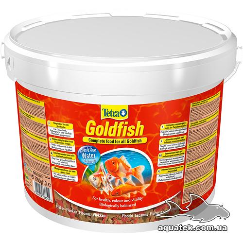 Корм Tetra Goldfish 10 литров.