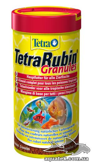 Корм TetraRubin Granules 250 мл.