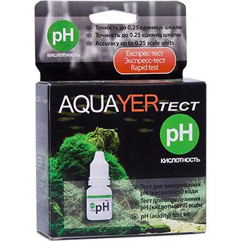 Aquaer тест для определения кислотности аквариумной воды