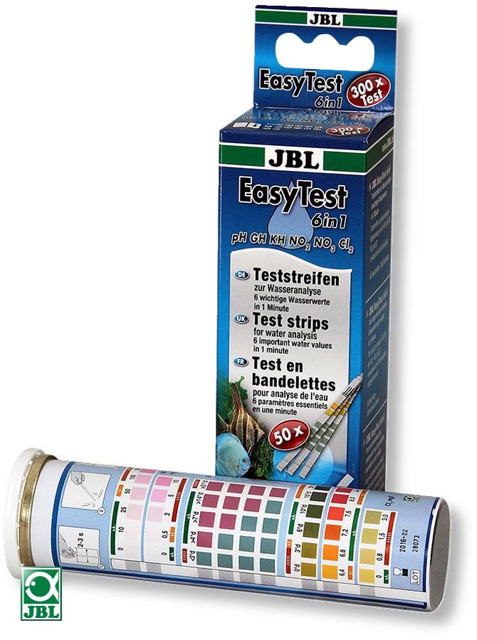 JBL EasyTest 6в1 - быстрый тест аквариумной воды по 6 параметрам