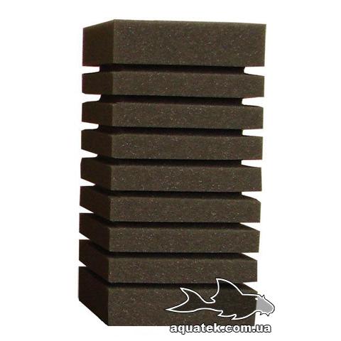 Губка Resun для головки прямоугольная 8х8х14 см среднепористая 35 ppi