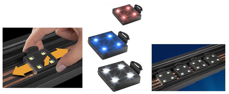 Resun TL-90–LED светильник с регулируемыми кронштейнами, артикул TL90