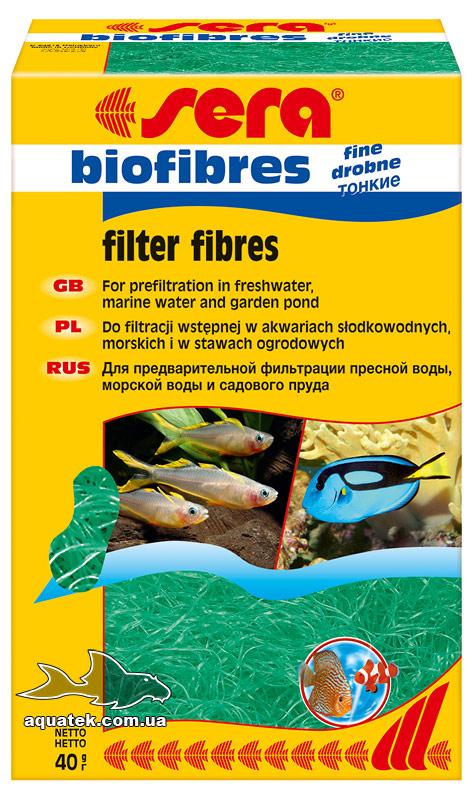 Sera биофибрес тонкая (sera biofibres fine) 40 грамм 1 литр