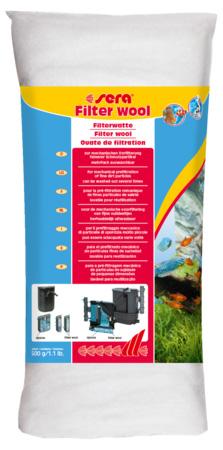 Sera фильтрующая вата 500 грамм (sera filter wool)
