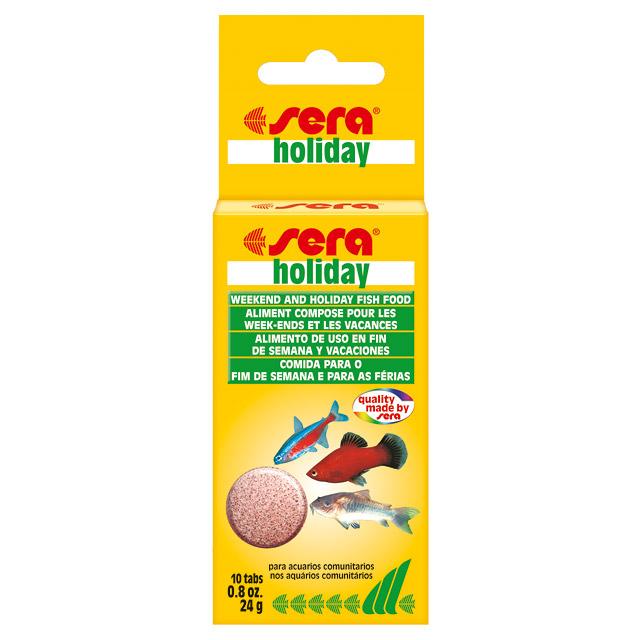 Sera Холидей (Sera Holiday) 10 таблеток. Таблетированный «долгоиграющий» корм «выходного дня».