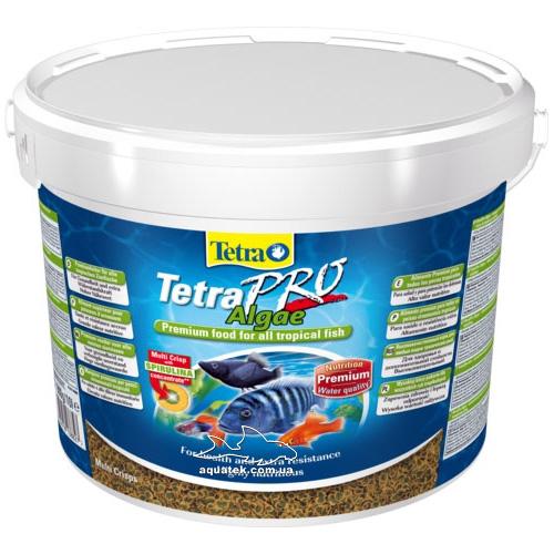 Корм TetraPro Algae 10 литров.